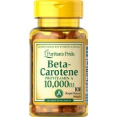 Puritan's Pride Beta-Carotene 10,000 IU 100 Tablets