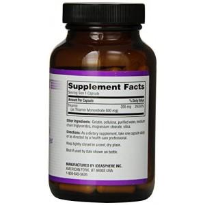 TWINLAB Витамин B-1 395 мг 100 капсул