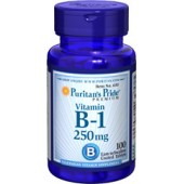 Puritan's Pride Vitamin B-1 250 mg 100 Tablets