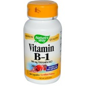 NATURE'S WAY Vitamin B-1 100 caps
