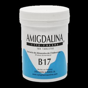 CYTO PHARMA Амигдалин Витамин В-17 500мг 100 таблеток