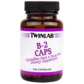 TWINLAB Витамин B-2 100мг 100 капсул