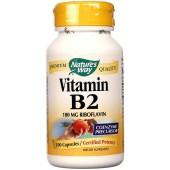 NATURE'S WAY Витамин B-2 100 капсул