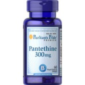 Puritan's Pride Пантетин 300 мг 60 таблеток