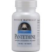 SOURCE NATURALS Пантетин (300 мг) 90 таблеток