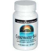 SOURCE NATURALS Коэнзимированный B6 120 таблеток