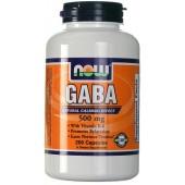 NOW ГАМК (500 мг) с В-6 100 капсул