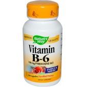 NATURE'S WAY Витамин В-6 (100 мг) 100 капсул