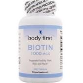 BODY FIRST Биотин (1000 мкг) 60 таблеток