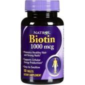 NATROL Биотин 1000 мкг 100 таблеток
