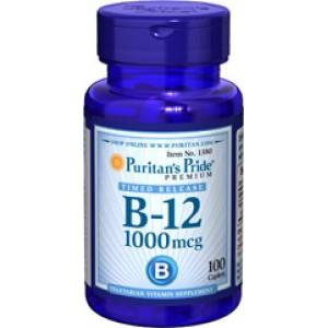 Puritan's Pride Витамин B-12 1000 мкг 100 таблеток