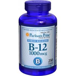 Puritan's Pride Витамин B-12 1000 мкг 250 таблеток