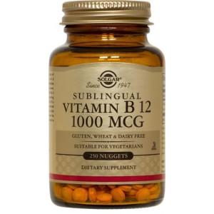 SOLGAR Витамин B12 (1000 мкг) 100 таблеток