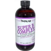 TWINLAB Супер B-Комплекс Жидкий 8 унций