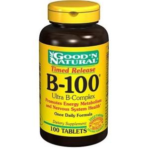 GOOD 'N NATURAL B-100 Ультра B-комплекс 100 таблеток