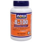NOW B-100 (B-комплекс высокого потенциала) 100 капсул