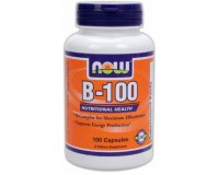 NOW B-100 (High Potency B-Complex) 100 caps