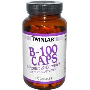 TWINLAB B-100 100 капсул
