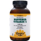 COUNTRY LIFE Buffered Vitamin C - Time Release (1000mg) 100 tabs