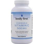 BODY FIRST Жевательный Витамин С (500 мг) 60 пластинок