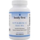 BODY FIRST Витамин С (500 мг) 60 капсул
