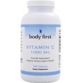 BODY FIRST Витамин С (1000 мг) 60 капсул