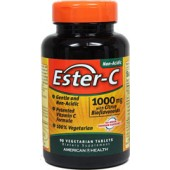 AMERICAN HEALTH Vitamins C Ester-C® with Citrus Bioflavonoids 1000 mg 90 Tablets