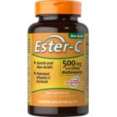 AMERICAN HEALTH Витамин С Ester-C 500мг с биофлавоноидами 120 капсул