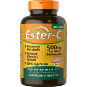 AMERICAN HEALTH Витамин С Ester-C 500мг с биофлавоноидами 90 таблеток