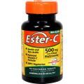 AMERICAN HEALTH Витамин С Ester-C 500мг с биофлавоноидами 90 вегетарианских таблеток