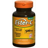 AMERICAN HEALTH Витамин С Ester-C 500мг 60 капсул