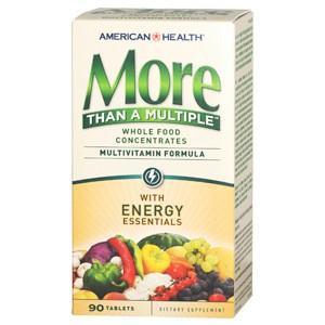 AMERICAN HEALTH Мультивитамины More Than A Multiple (энергетический комплекс) 90 таблеток