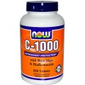 NOW C-1000 с шиповником и биофлавоноидами 100 таблеток
