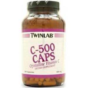 TWINLAB С-500 250 капсул
