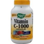 NATURE'S WAY Витамин C-1000 с шиповником 100 капсул