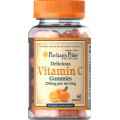 Puritan's Pride Жевателный Витамин С 250 мг
