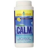 NATURAL VITALITY Натуральный Calm, расслабляющая магниевая добавка, вкус лимона 226г