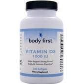 BODY FIRST Витамин D3 (1000 МЕ) 60 капсул