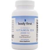 BODY FIRST Витамин D3 (2000 МЕ) 60 капсул