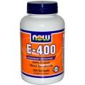 NOW E-400 (D-альфа с 20% токоферолов) 100 капсул