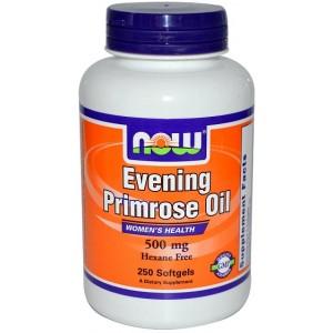 NOW масло примулы вечерней (500 мг) 100 капсул