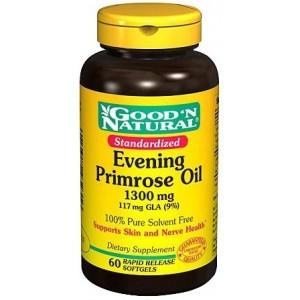 GOOD 'N NATURAL масло примулы вечерней (1300mg)