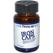 TWINLAB Железо 18 мг 100 капсул