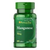Puritan's Pride Марганец 50 мг 100 таблеток