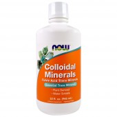 Now Foods Коллоидные минералы, 946 мл.