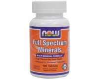 Now Foods Full Spectrum Minerals 100 Tablets