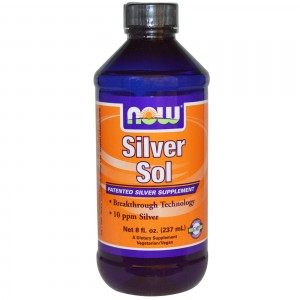 Now Foods Коллоидное серебро, 237 мл.