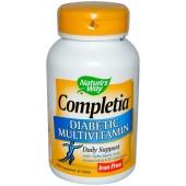 NATURE'S WAY Диабетические Мультивитамины (без железа ) 30 таблеток