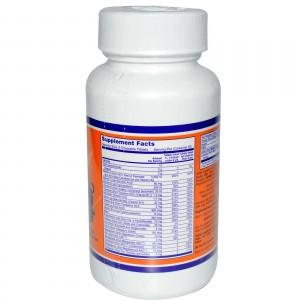 NOW Мультивитамины для детей Kid Vits 120 жевательных таблеток