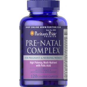 Puritan's Pride Мультивитамины для беременных Pre-Natal Complex 120 таблеток